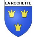 Stickers coat of arms La Rochette adhesive sticker