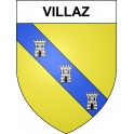 Stickers coat of arms Villaz adhesive sticker