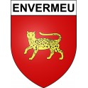Stickers coat of arms Envermeu adhesive sticker