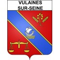 Stickers coat of arms Vulaines-sur-Seine adhesive sticker