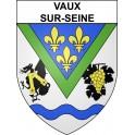 Vaux-sur-Seine 78 ville sticker blason écusson autocollant adhésif
