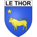 Stickers coat of arms Le Thor adhesive sticker
