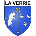 Stickers coat of arms La Verrie adhesive sticker
