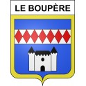 Stickers coat of arms Le Boupère adhesive sticker