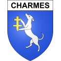 Stickers coat of arms Charmes adhesive sticker
