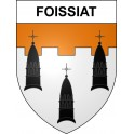 Stickers coat of arms Foissiat adhesive sticker