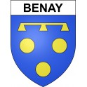 Stickers coat of arms Benay adhesive sticker