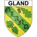 Adesivi stemma Gland adesivo