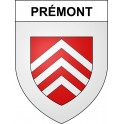 Stickers coat of arms Prémont adhesive sticker