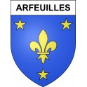 Stickers coat of arms Arfeuilles adhesive sticker