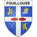 Stickers coat of arms Fouillouse adhesive sticker
