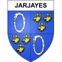 Stickers coat of arms Jarjayes adhesive sticker