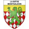 Stickers coat of arms La Bâtie-Montsaléon adhesive sticker