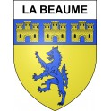 Stickers coat of arms La Beaume adhesive sticker