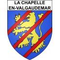 Stickers coat of arms La Chapelle-en-Valgaudemar adhesive sticker