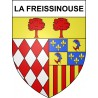 Stickers coat of arms La Freissinouse adhesive sticker