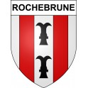 Stickers coat of arms Rochebrune adhesive sticker