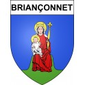 Stickers coat of arms Briançonnet adhesive sticker