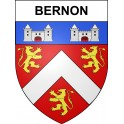 Stickers coat of arms Bernon adhesive sticker