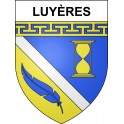 Stickers coat of arms Luyères adhesive sticker