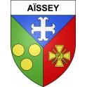 Aïssey Sticker wappen, gelsenkirchen, augsburg, klebender aufkleber