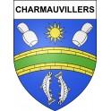 Adesivi stemma Charmauvillers adesivo