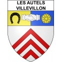 Stickers coat of arms Les Autels-Villevillon adhesive sticker