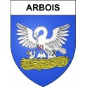 Stickers coat of arms Arbois adhesive sticker