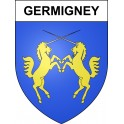 Stickers coat of arms Germigney adhesive sticker