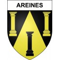 Stickers coat of arms Areines adhesive sticker