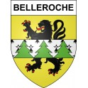 Stickers coat of arms Belleroche adhesive sticker