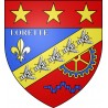 Stickers coat of arms Lorette adhesive sticker