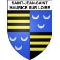 Stickers coat of arms Saint-Jean-Saint-Maurice-sur-Loire adhesive sticker