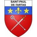 Stickers coat of arms Saint-Paul-de-Tartas adhesive sticker