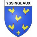 Stickers coat of arms Yssingeaux adhesive sticker