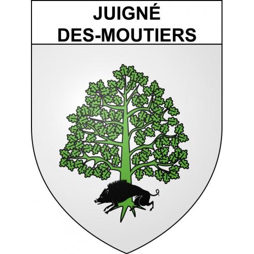 Stickers coat of arms Juigné-des-Moutiers adhesive sticker