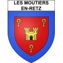 Stickers coat of arms Les Moutiers-en-Retz adhesive sticker