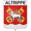 Stickers coat of arms Altrippe adhesive sticker