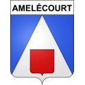 Stickers coat of arms Amelécourt adhesive sticker