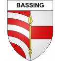 Stickers coat of arms Bassing adhesive sticker