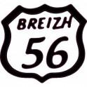 56 breizh logo sticker adhésif logo autocollant adhésif