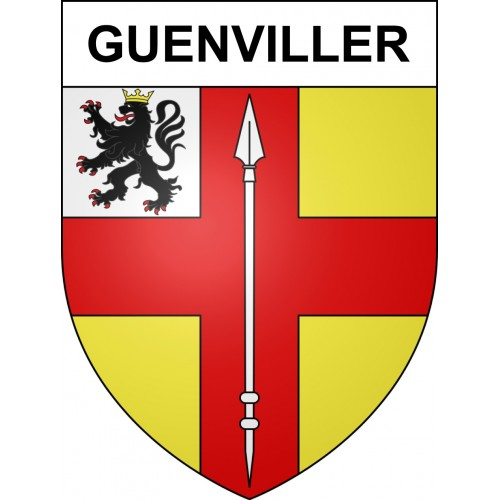 Stickers coat of arms Guenviller adhesive sticker