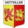 Stickers coat of arms Hottviller adhesive sticker