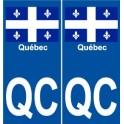 Quebec city, QC city world wall sticker sticker plate