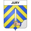 Stickers coat of arms Jury adhesive sticker