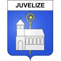 Stickers coat of arms Juvelize adhesive sticker