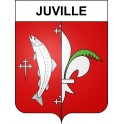 Stickers coat of arms Juville adhesive sticker