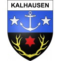 Stickers coat of arms Kalhausen adhesive sticker