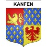 Stickers coat of arms Kanfen adhesive sticker