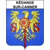 Stickers coat of arms Kédange-sur-Canner adhesive sticker
